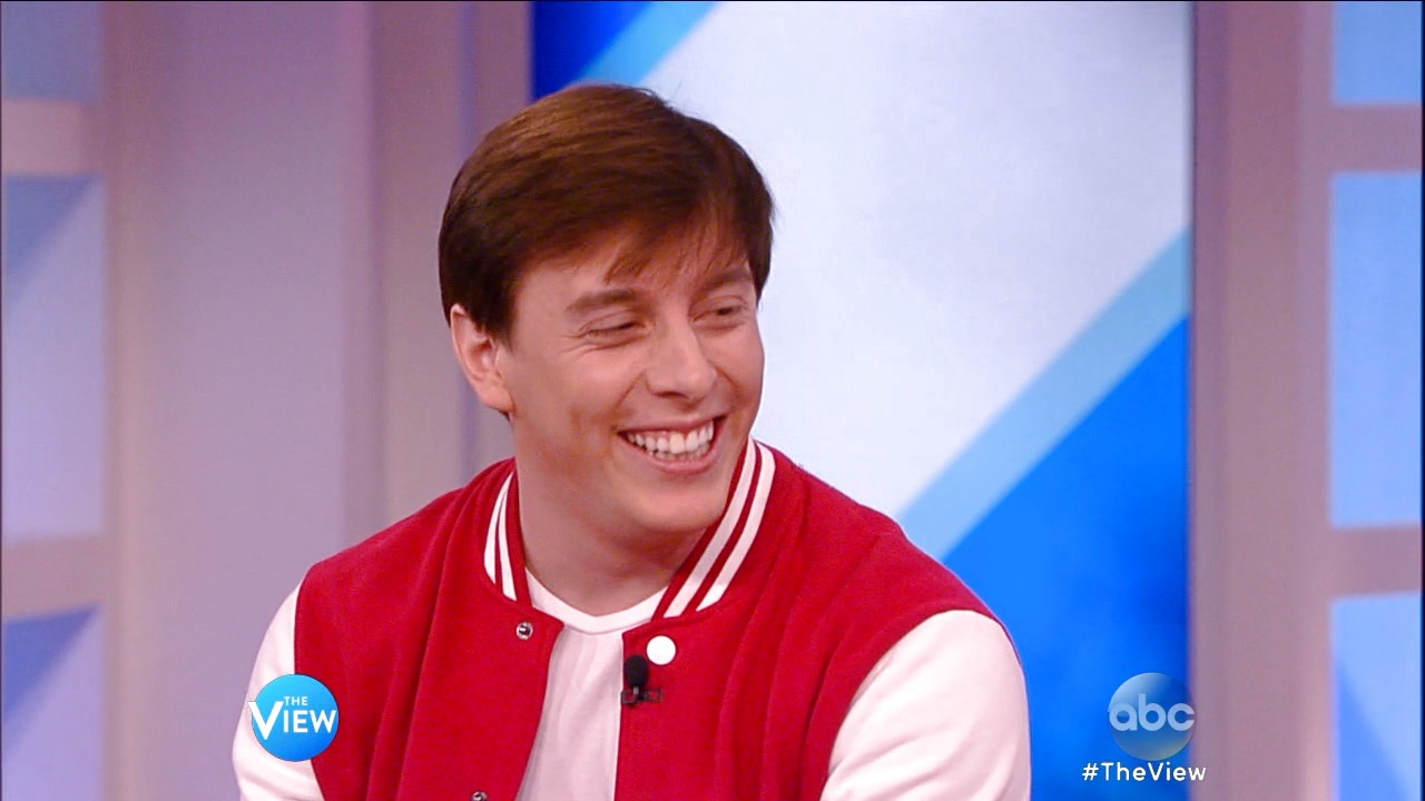 "'The View': Vine on ""The View"": Thomas Sanders"