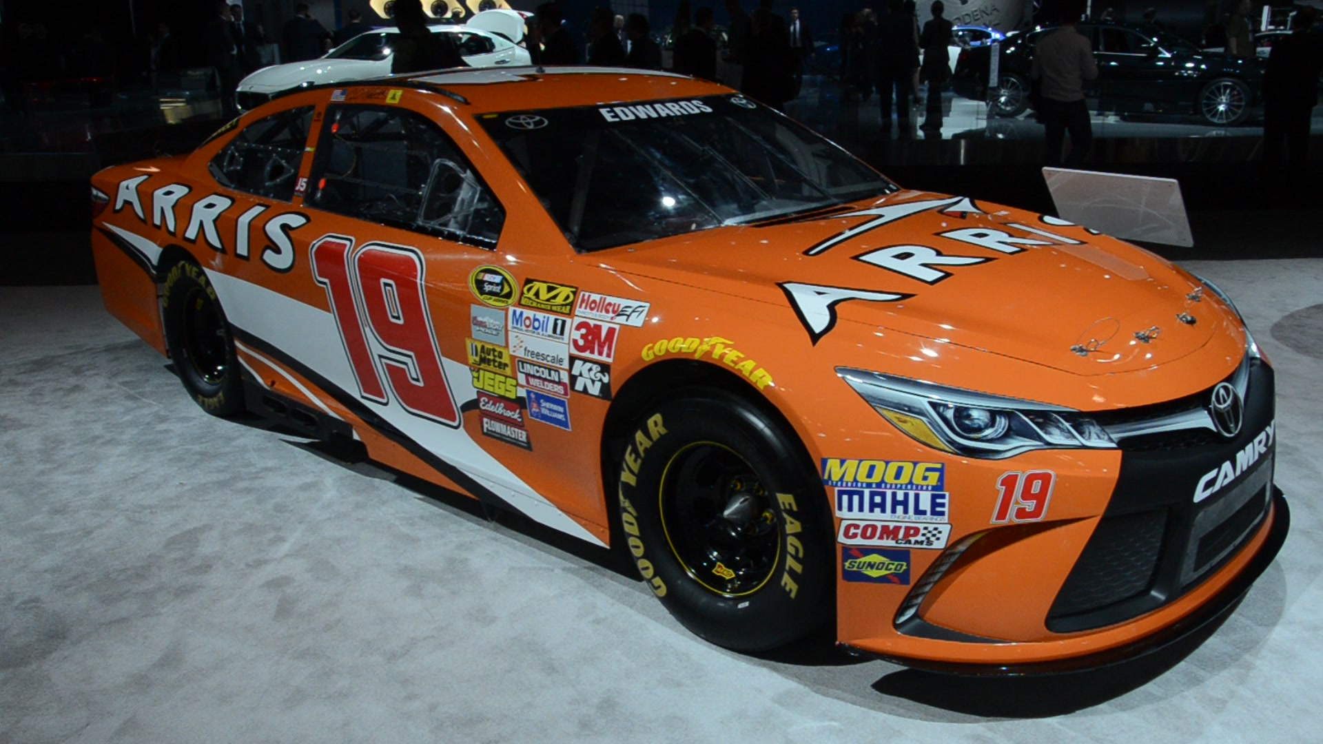 2015 Nascar Sprint Cup Series Camry | 2015 NYIAS | Autoblog Short Cuts