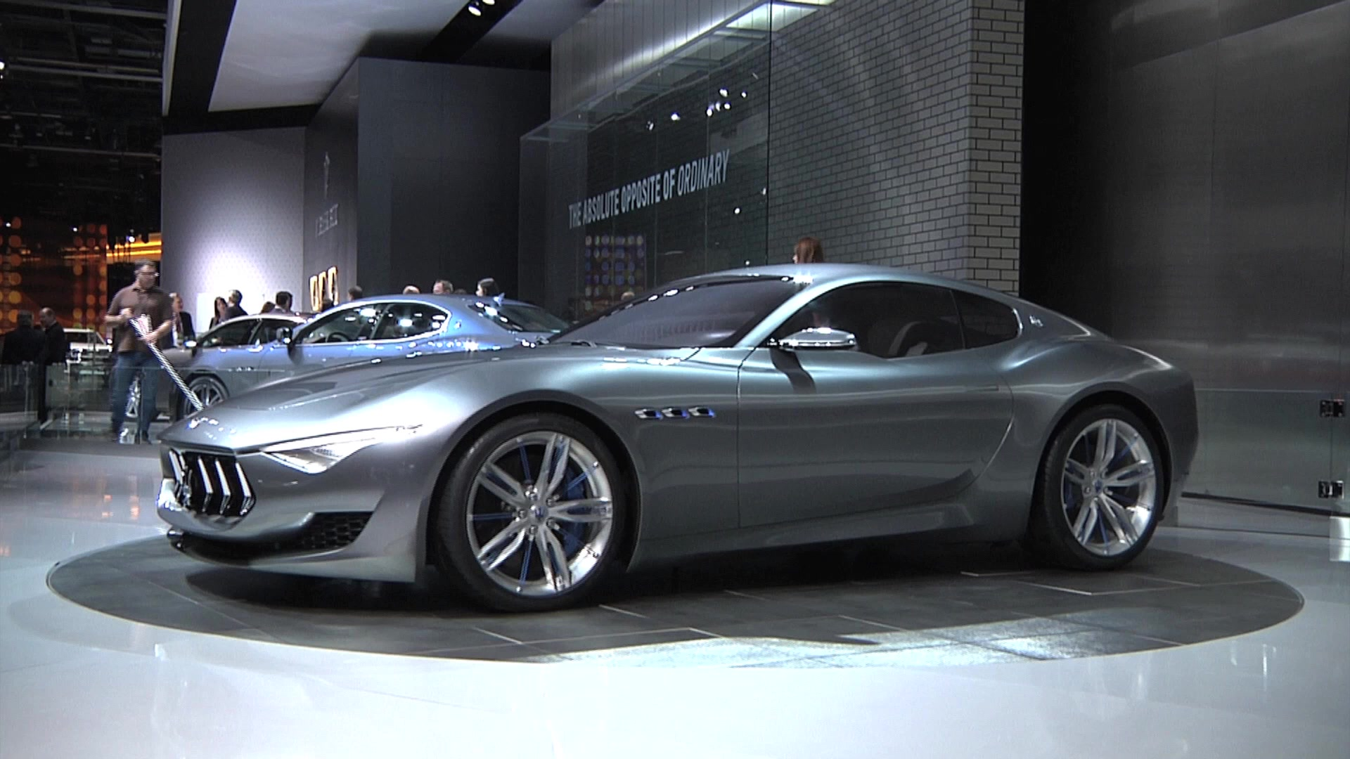 Maserati Plans To Launch Alfieri And Granturismo By 2018