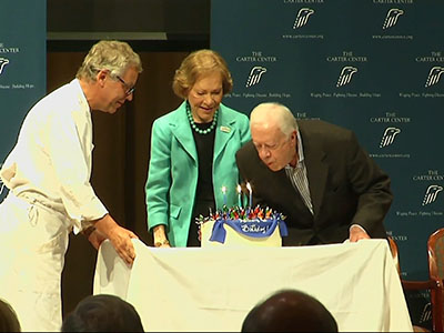 Jimmy Carter Celebrates 90th Birthday