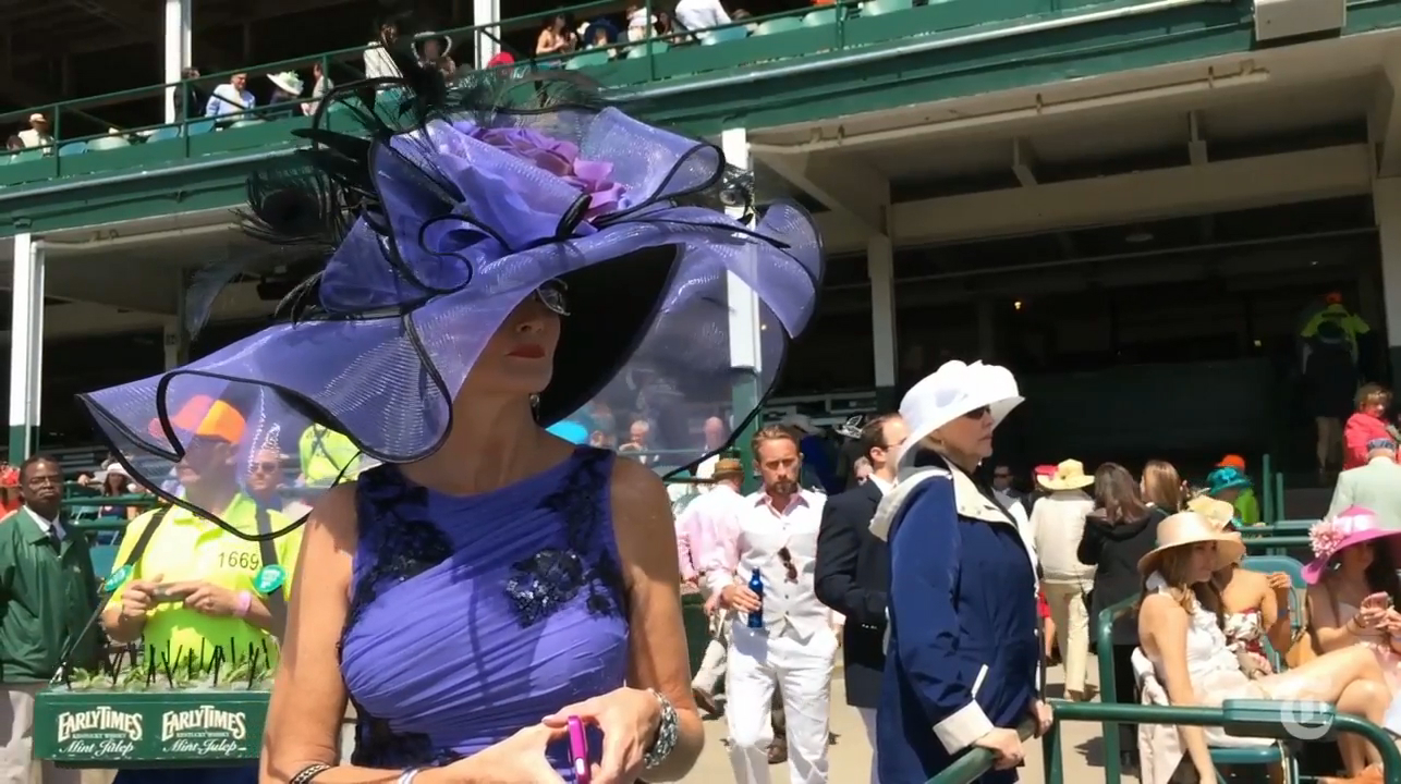 Outrageous Fashion at the Kentucky Derby