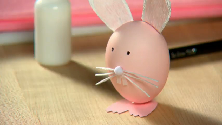 How to Create a Bunny Shaped Egg for Easter
