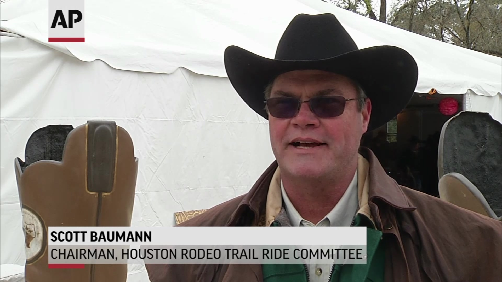 Trail Rides Kick Off Houston Rodeo
