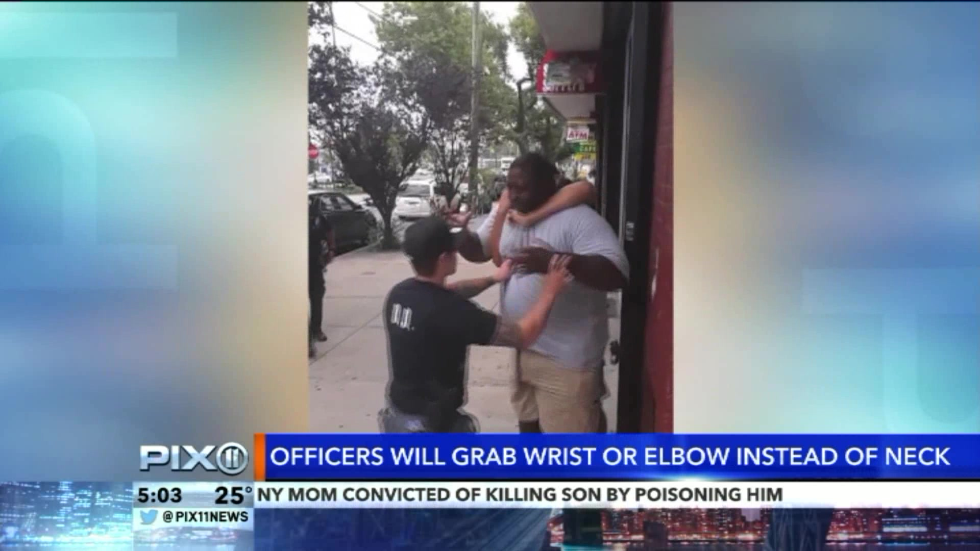 The NYPD Is Learning A New Takedown Technique After Eric Garner's Death