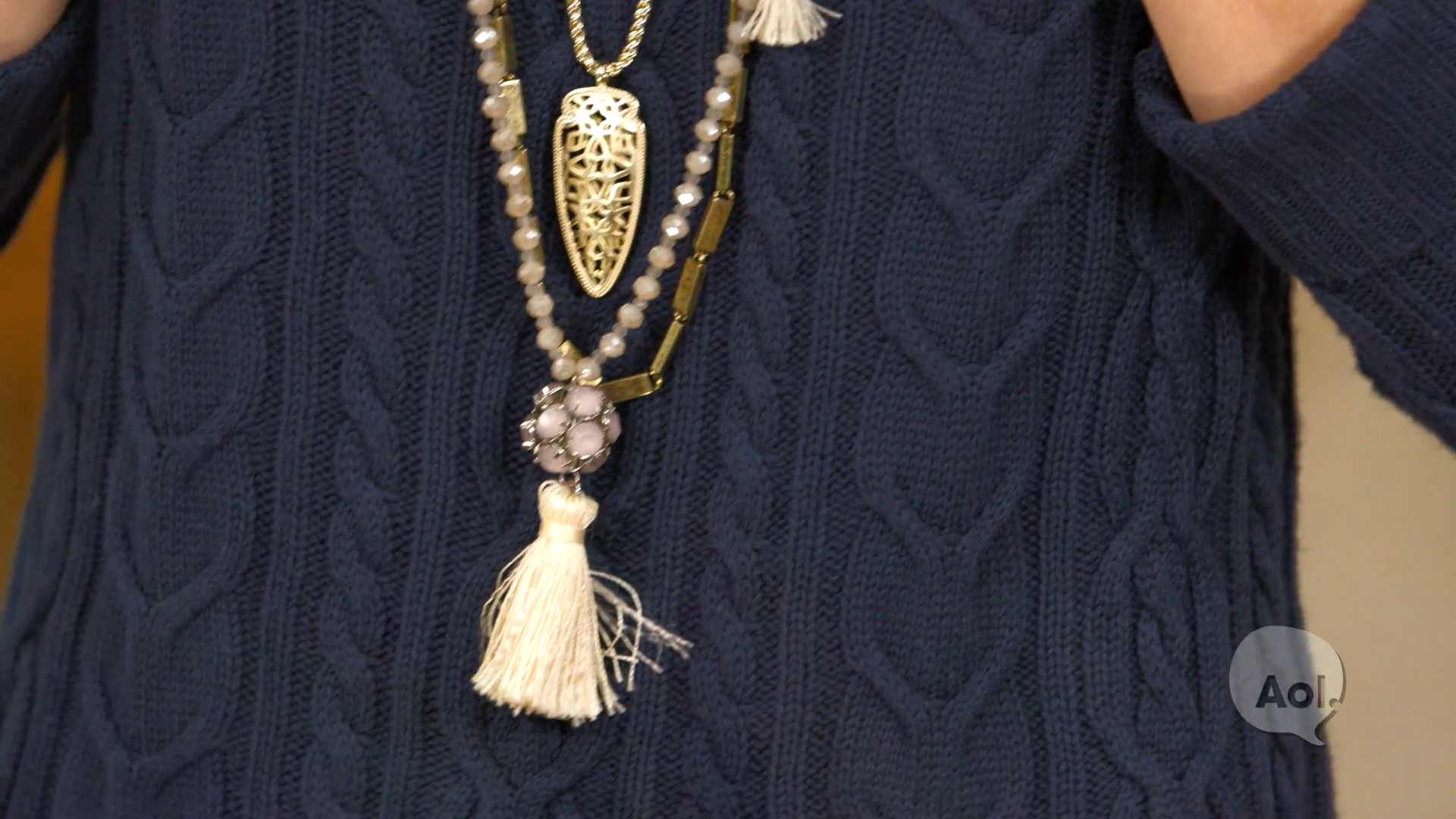 Get the Look: Layering Necklaces