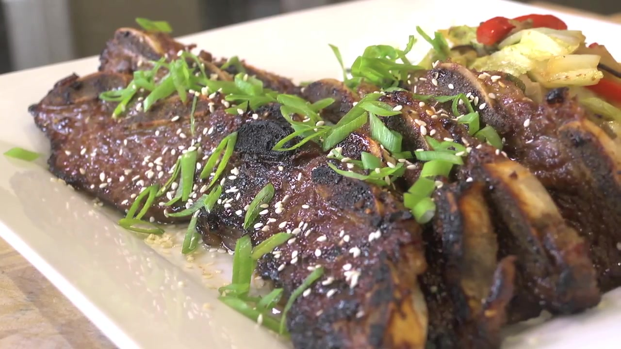 Grilled Korean Beef Short Ribs Recipe