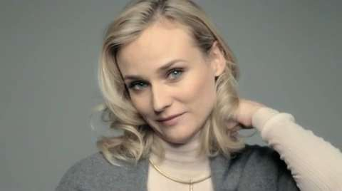 Diane Kruger On Her Fix For a Bad Hair Day