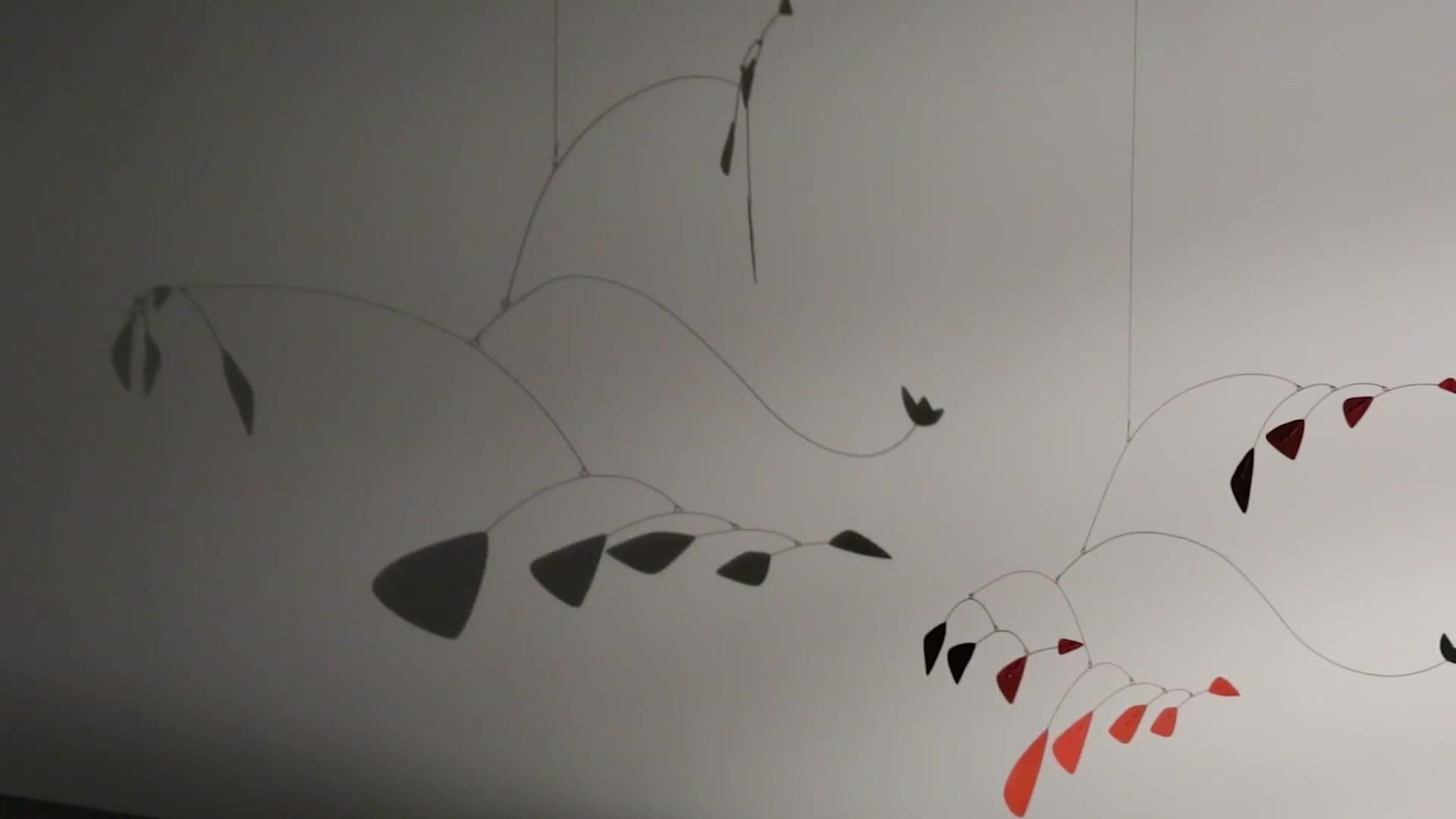 'Calder Shadows' Exhibition at the Venus Over Manhattan Gallery