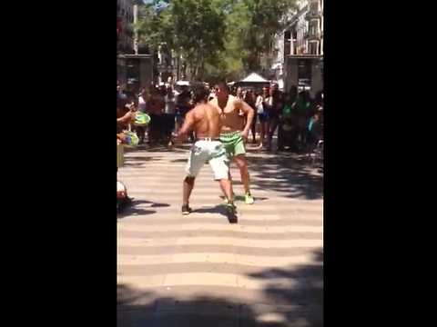 Capoeira Street Artists Perform Impressive 'Dance Fight'