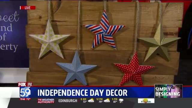 Give Fourth of July a Homemade Feel With Fun, Handcrafted Decorations