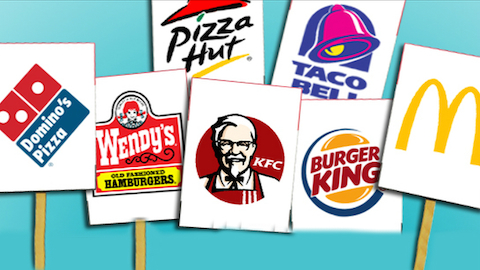Top  Fast Food Chains In America