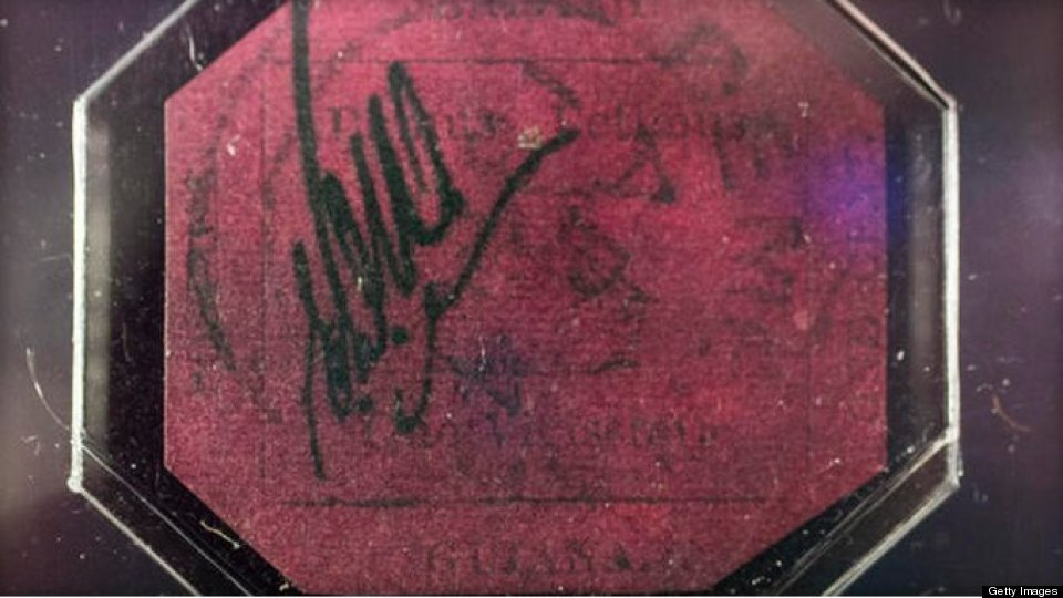 Rare Stamp Sells For $9.5M
