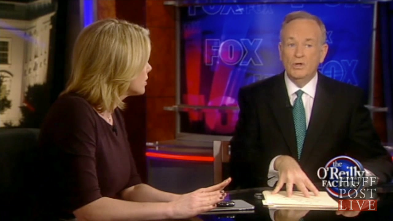 Bill O'Reilly Spars With Kirsten Powers Over Drones