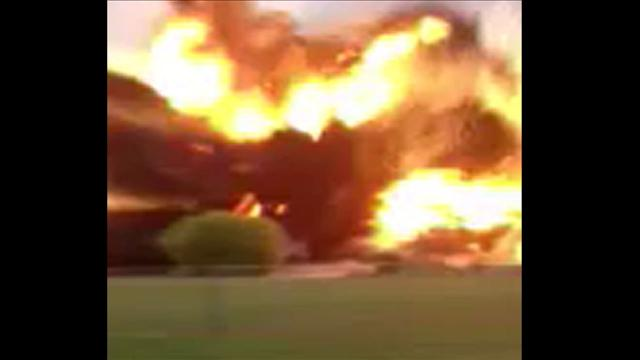 Texas Fertilizer Plant Explosion Caught on Video