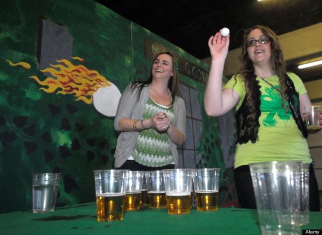 Beer Pong Balls Carry Bacteria, Proving Game Disgusting