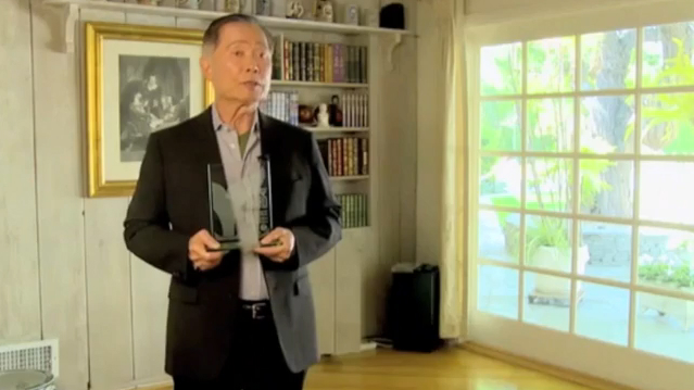 George Takei Takes Home Special Shorty Award