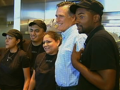 Raw Video: Romney's Lunch: Chipotle