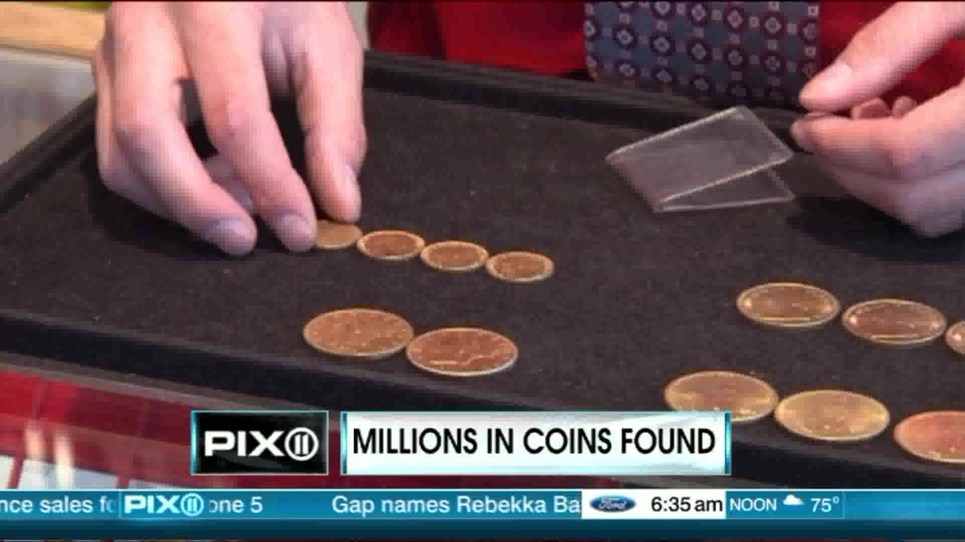 Millions In Gold Coins Found In Dead Man's Home
