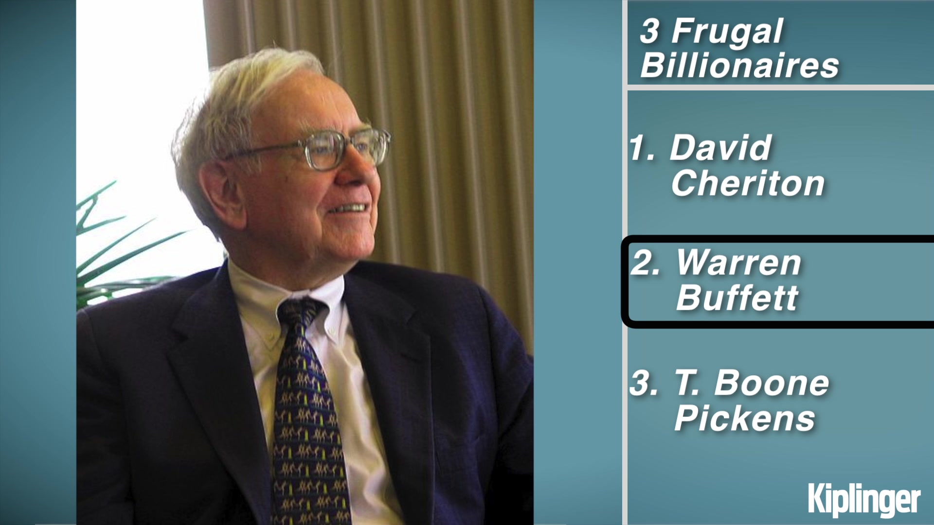 Frugal Habits of Three Billionaires