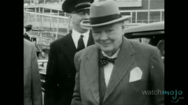 British Prime Minister Sir Winston Churchill Biography