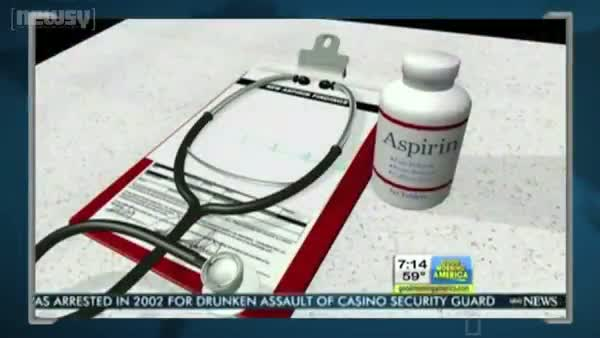 Aspirin Cuts Risk of Cancer?