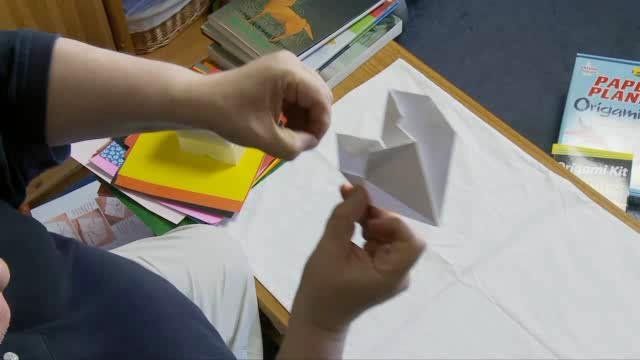 How to Make Your Own Origami Heart