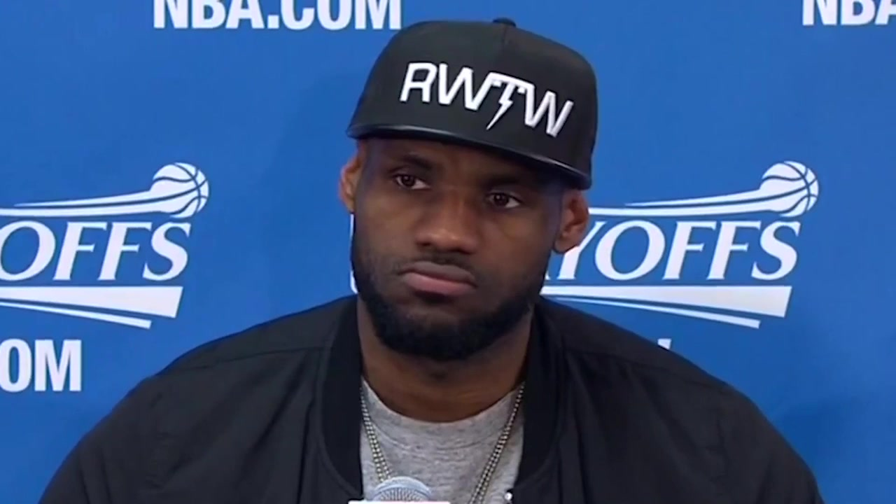 LeBron Asked About Kyrie Irving's Zero Assists in Front of Irving