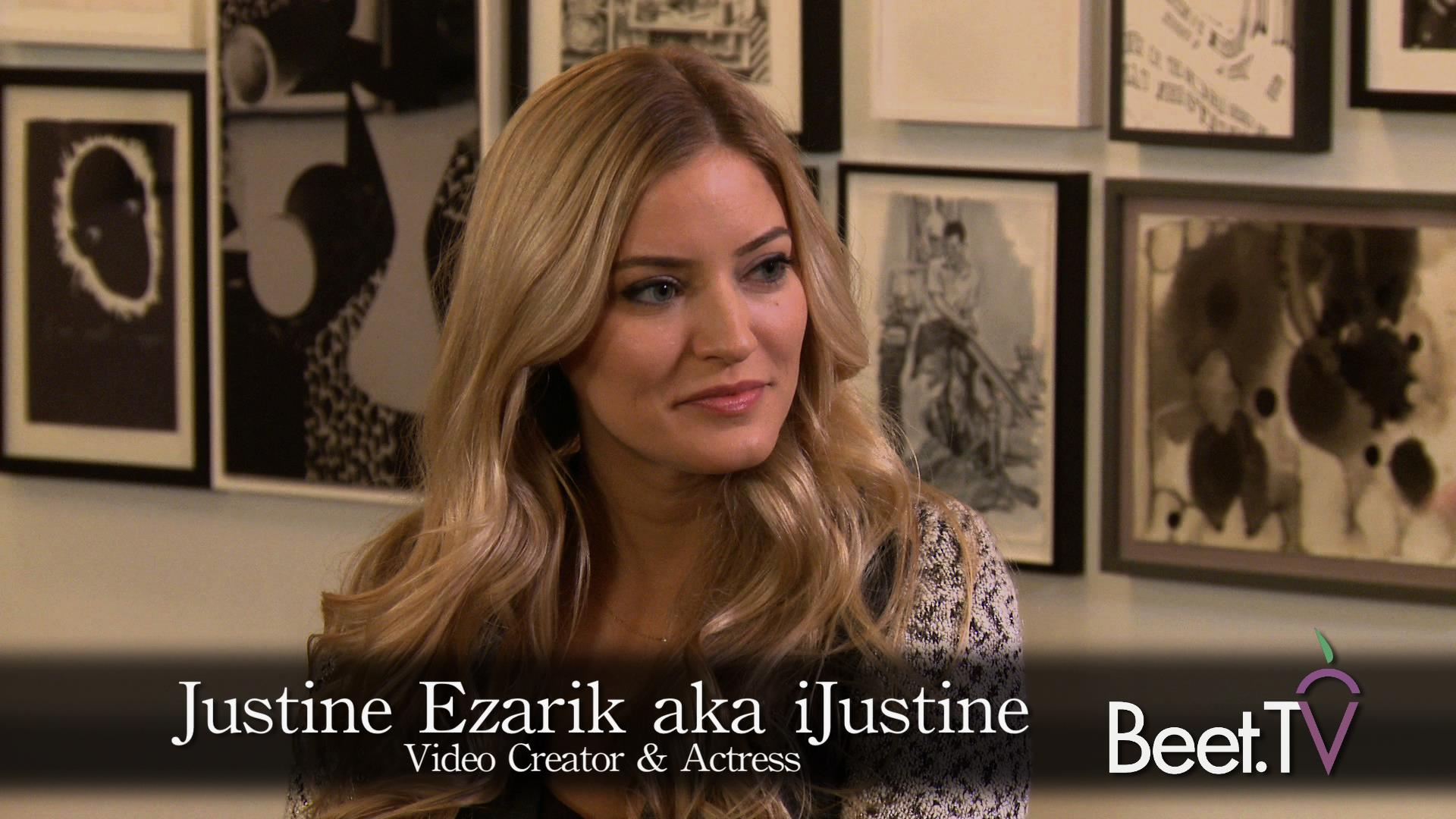Web Star IJustine on Branded Video and Her Own Pizza Hut Pizza