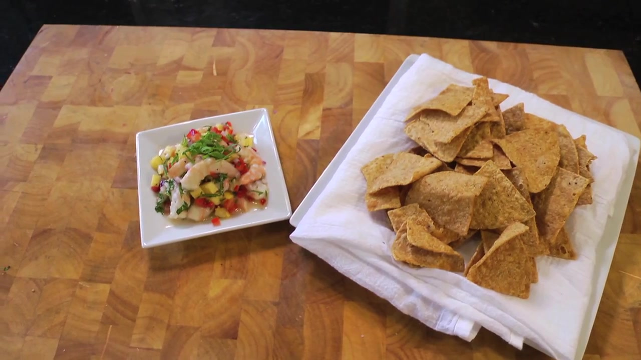 Pineapple and Shrimp Ceviche Recipe