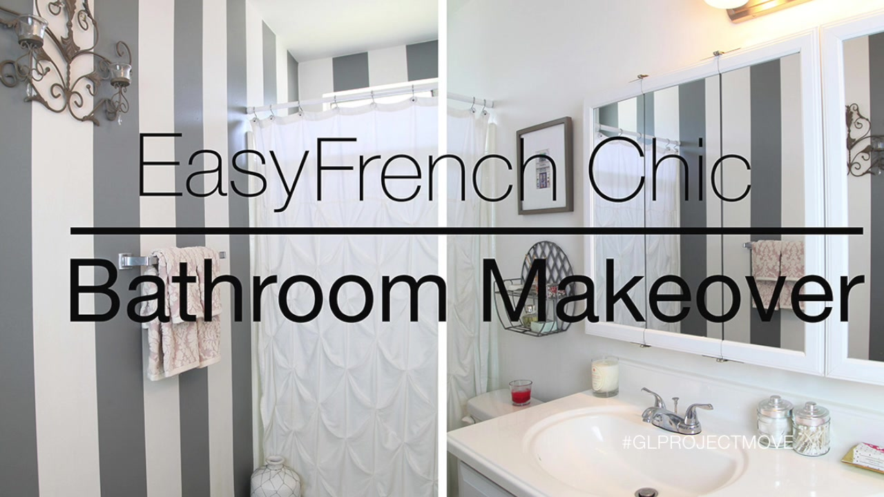 Easy Rental Bathroom Makeover