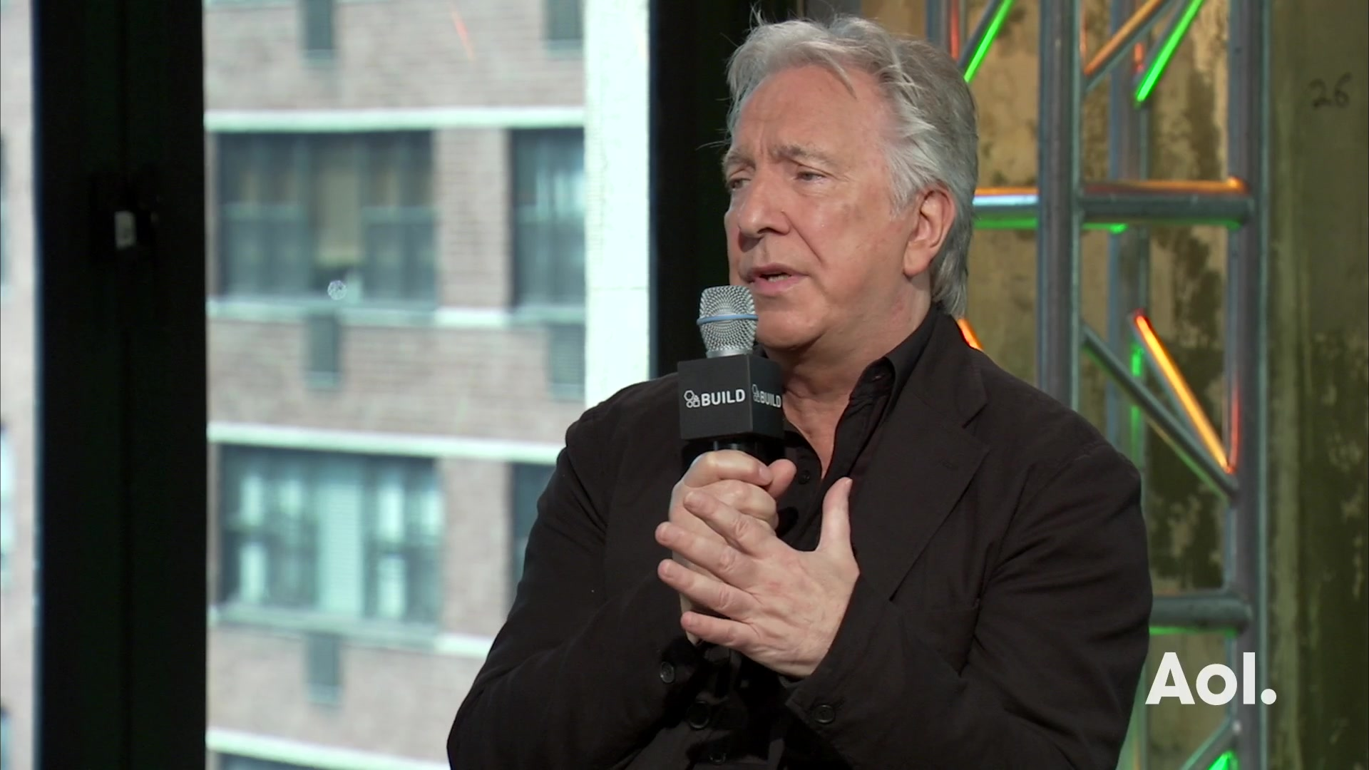 Alan Rickman on the 'Harry Potter' Experience