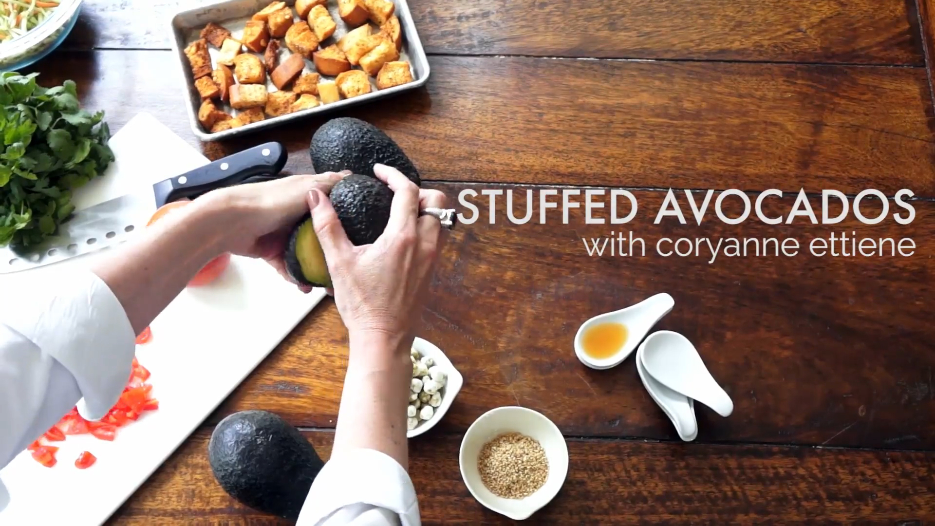 How to Make Stuffed Avocados