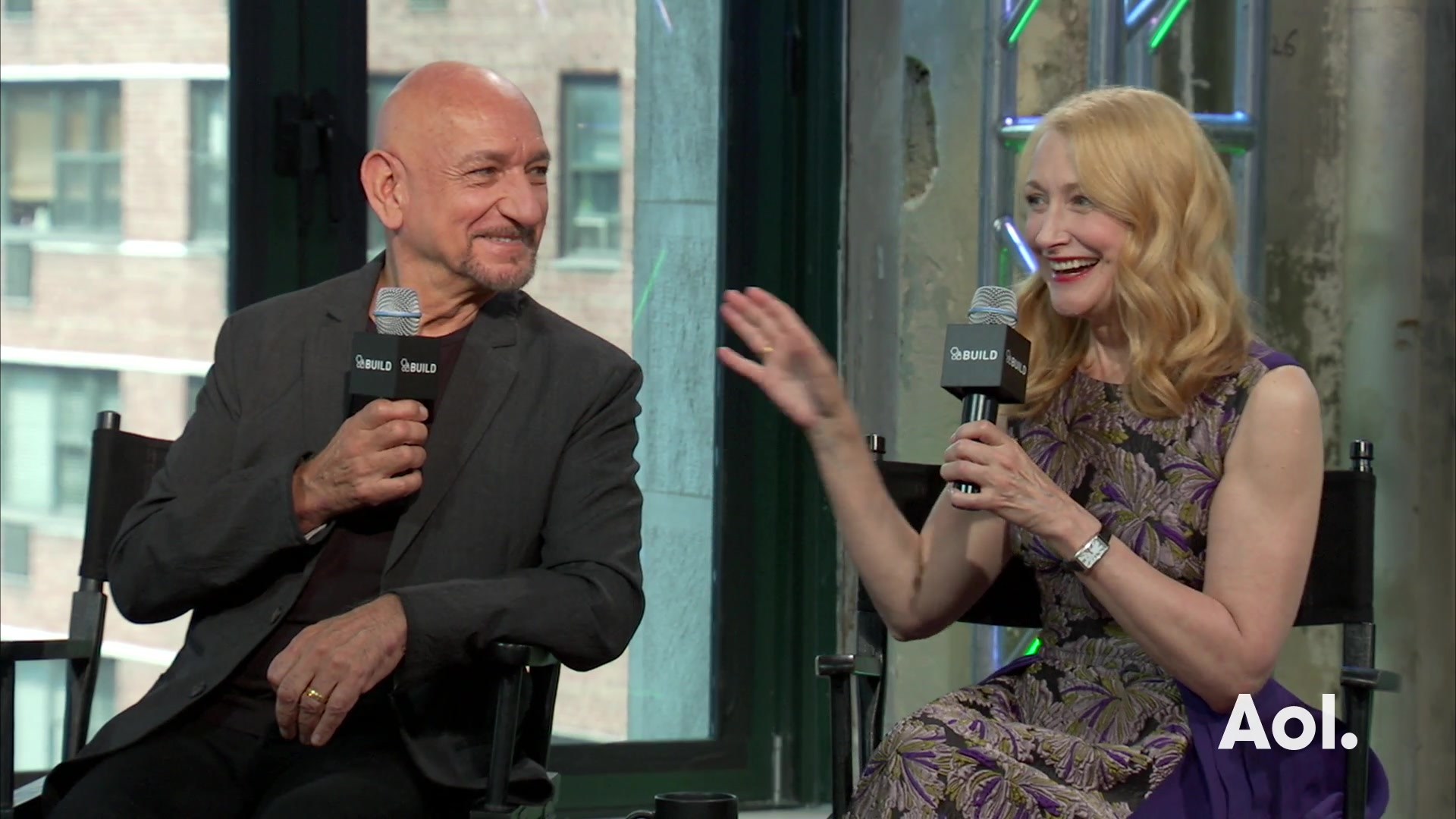 "Ben Kingsley and Patricia Clarkson on the Story Behind ""Learning To Drive"""