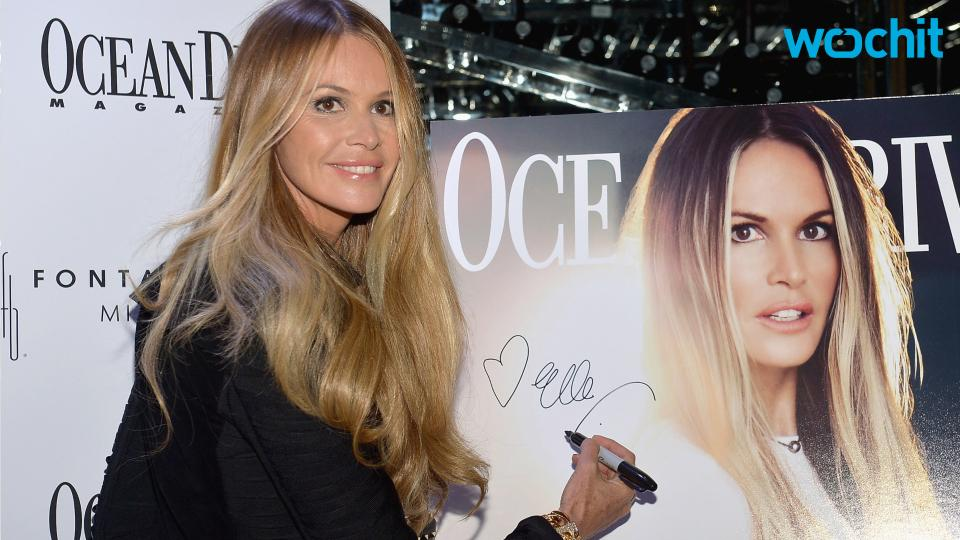 Elle Macpherson Reveals 50 and Over Beauty Regime