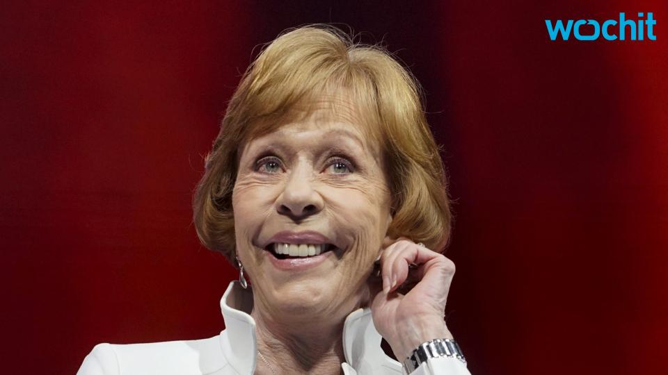 Carol Burnett to Receive SAG Life Achievement Award
