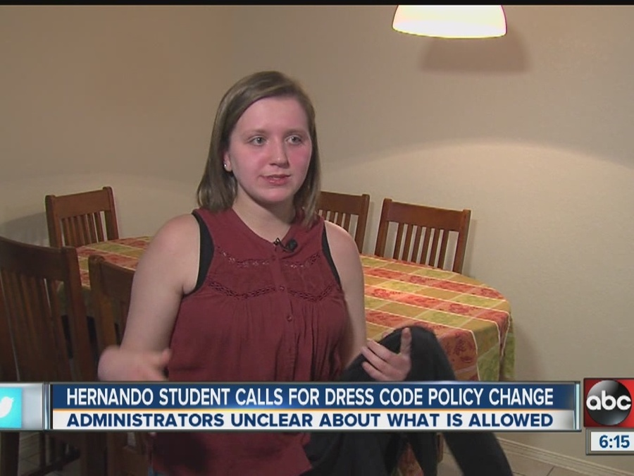 Hernando Student Given Warning for Wearing Sleeveless Shirt Under Zip-Up Jacket