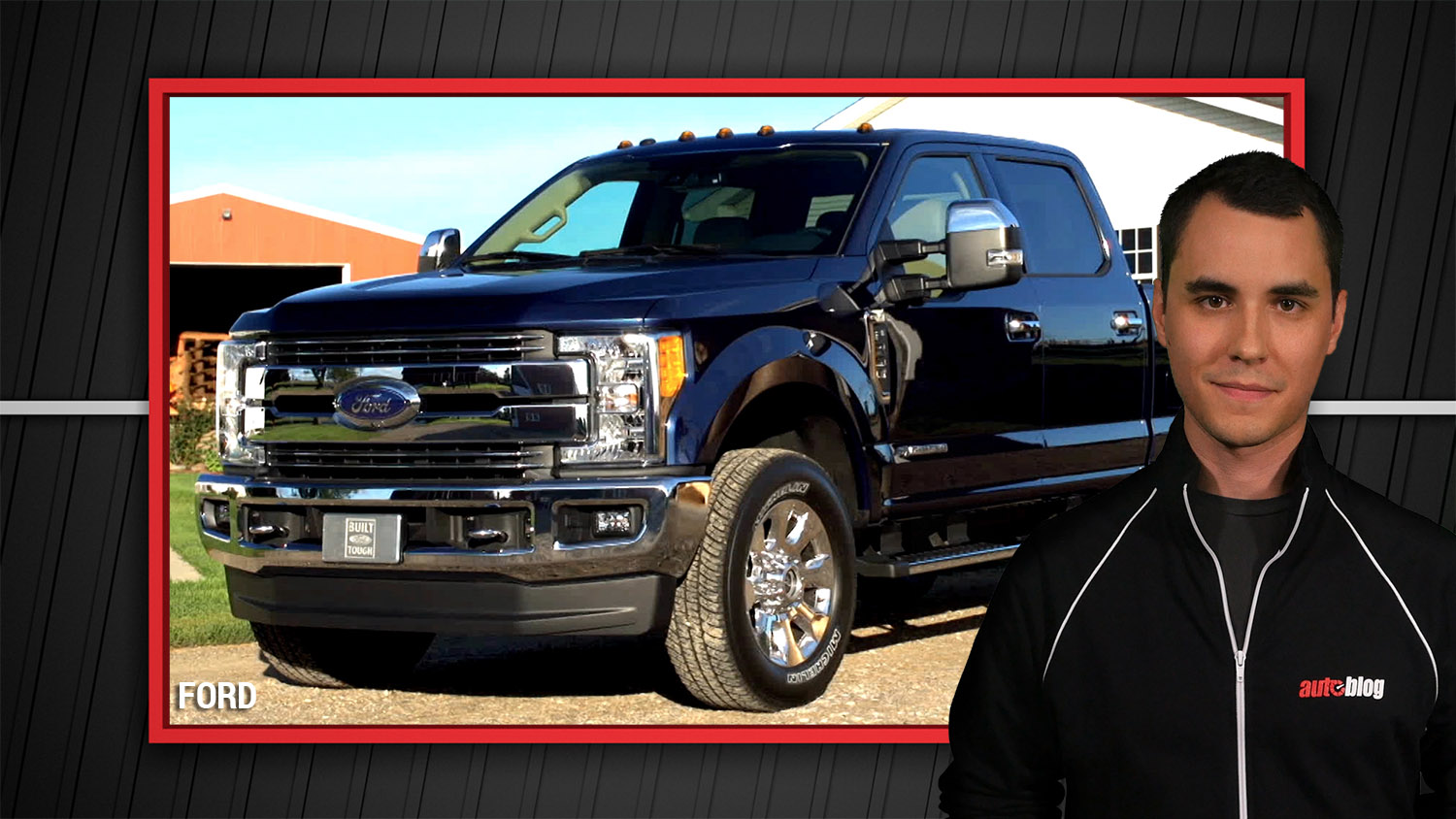 2017 ford f 450 super duty rated to tow 32 500 pounds autoblog. Black Bedroom Furniture Sets. Home Design Ideas