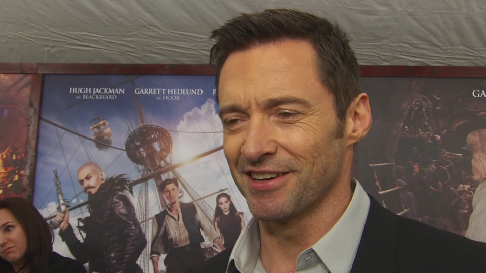 Hugh Jackman Dishes On His 'Pan' Look