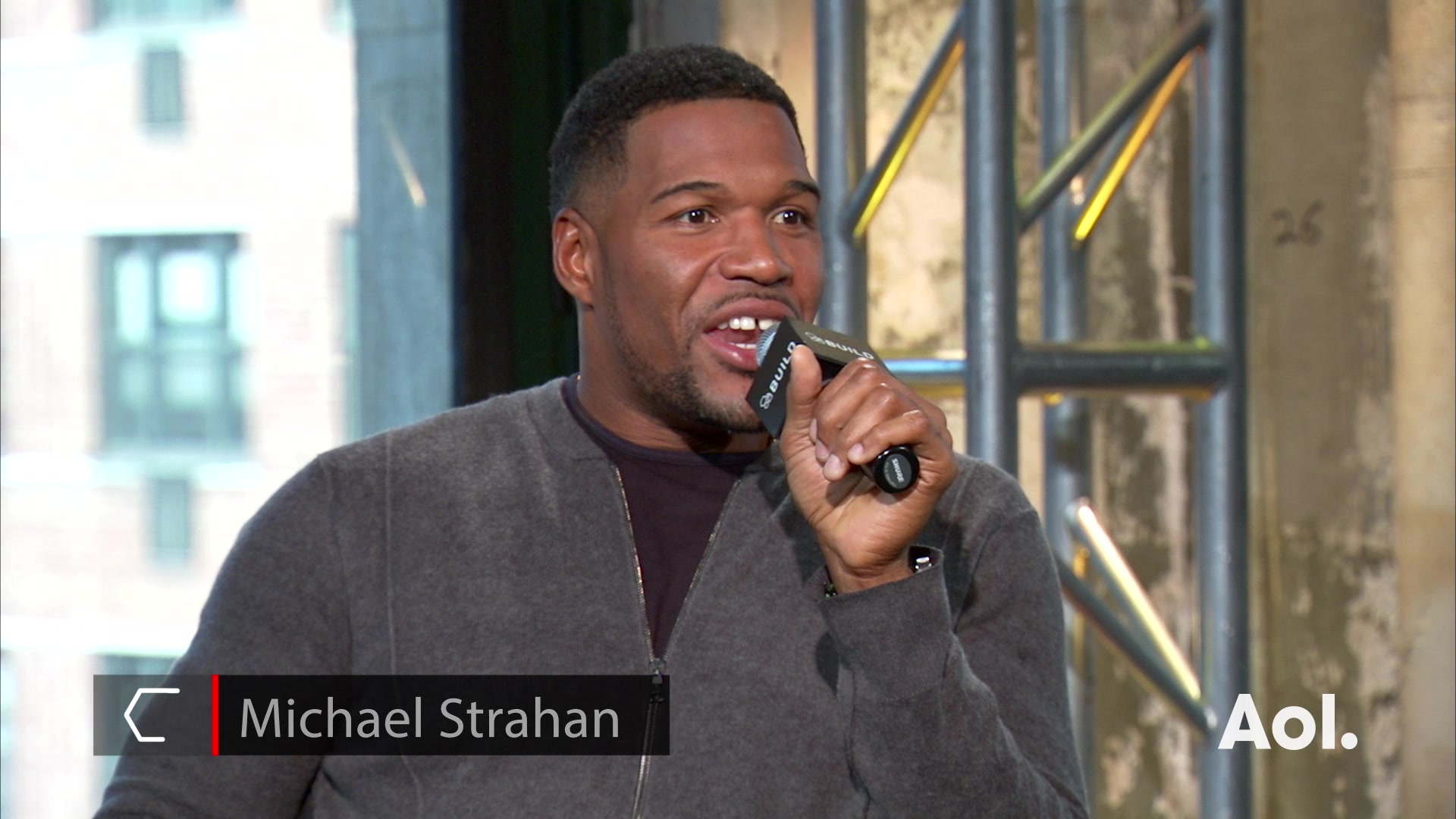 "Michael Strahan on Becoming a ""Kelly and Michael"" Host"