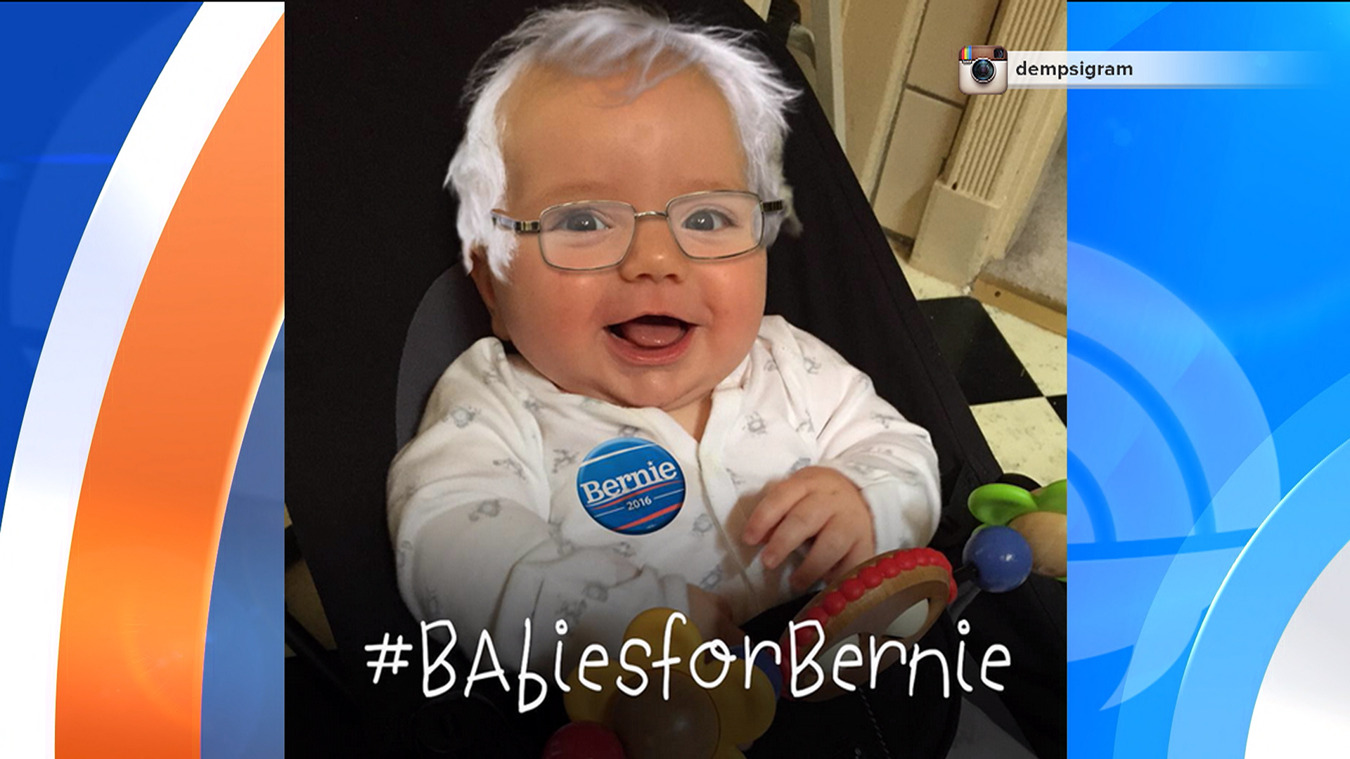 #BabiesForBernie Support Sanders Online (but They're Too Young to Vote)