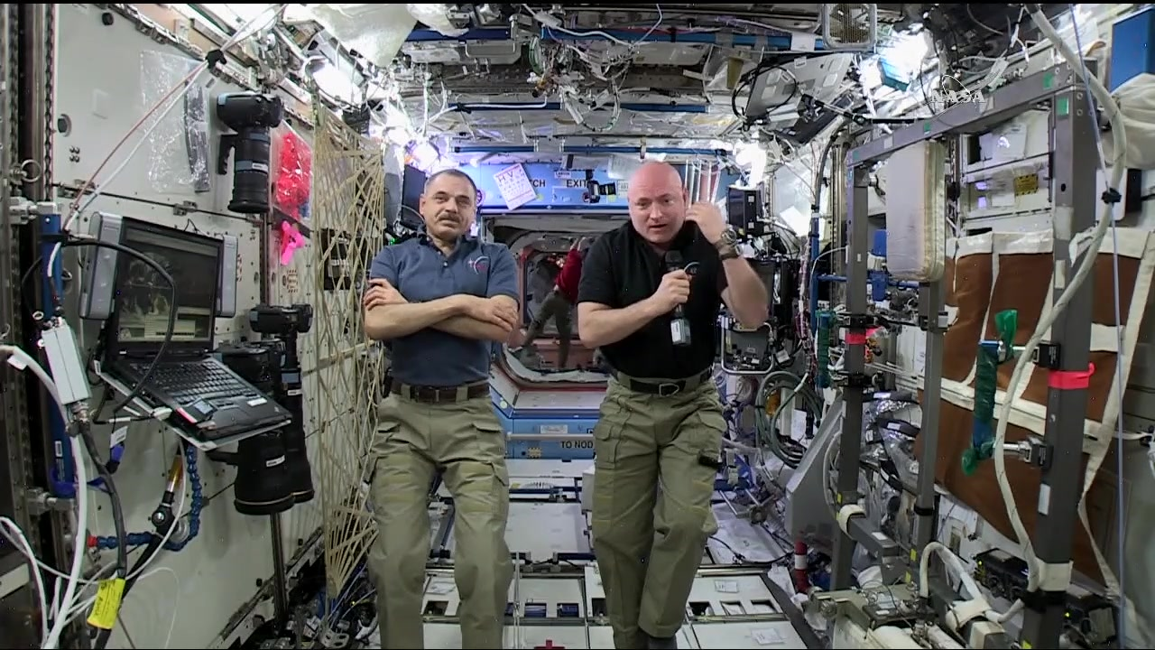 Scott Kelly and Mikhail Kornienko Share an Inside Look at Life in Space