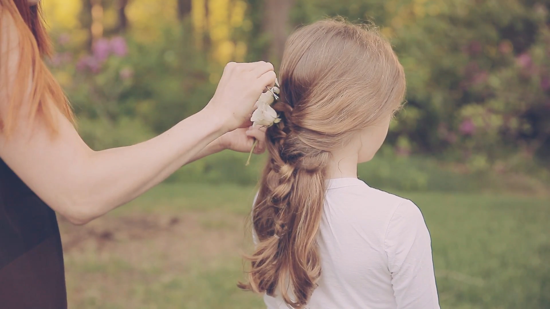 Adorable Flowergirl Braid
