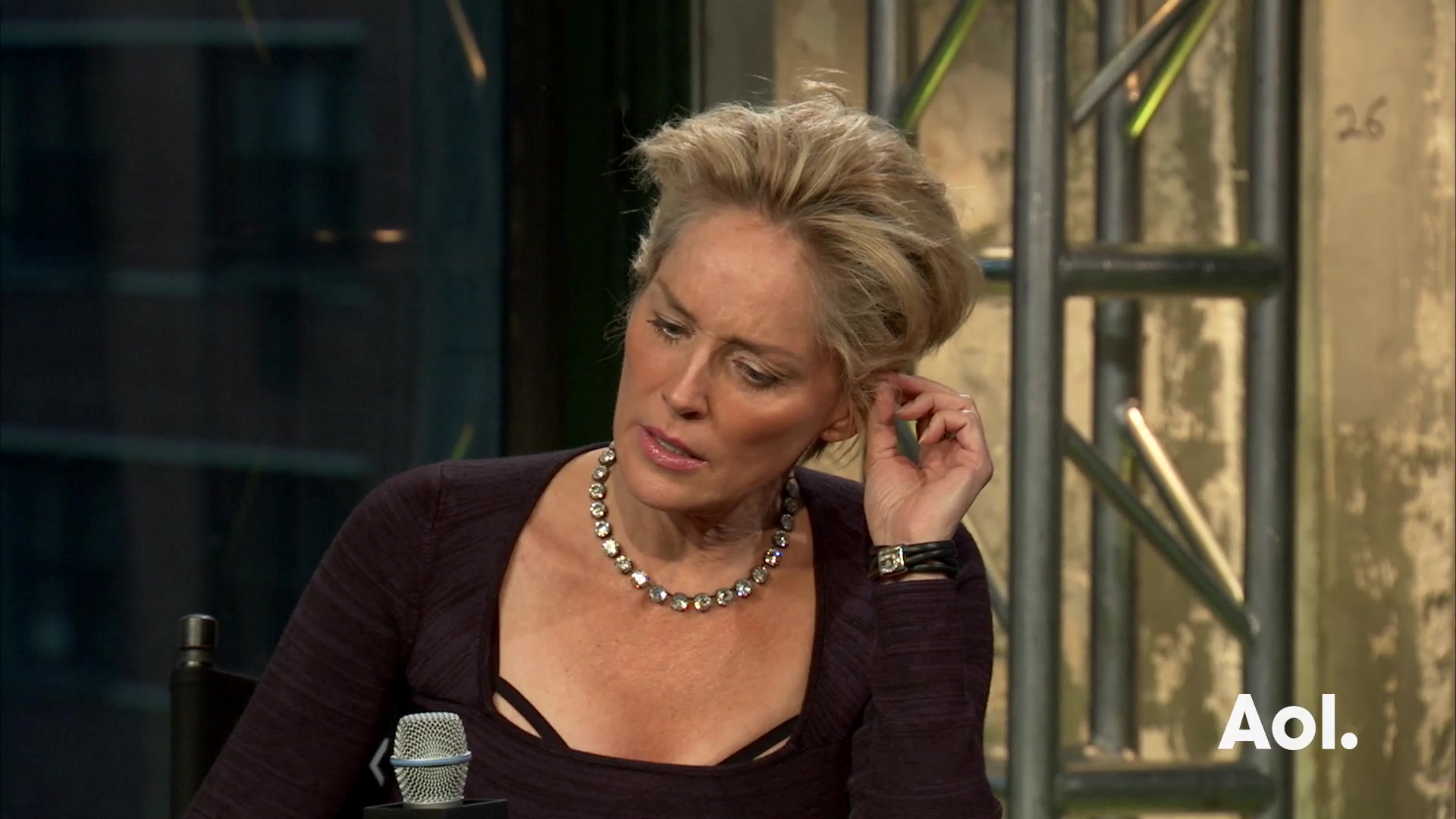 Sharon Stone on the Gender Pay Gap