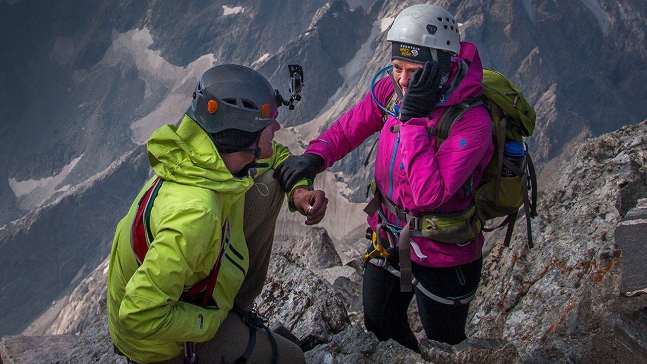 An Epic Proposal on a Mountain Peak
