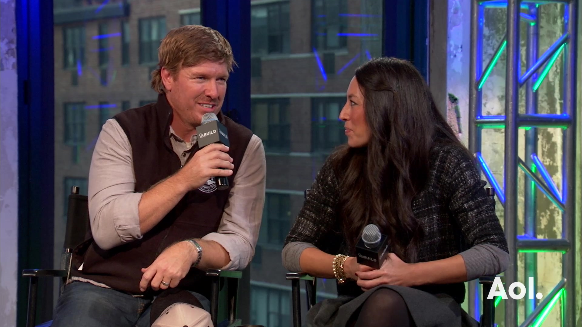 "Chip Gaines and Joanna Gaines On ""Fixer Upper"""