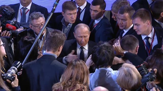 Vladimir Putin Praises Donald Trump