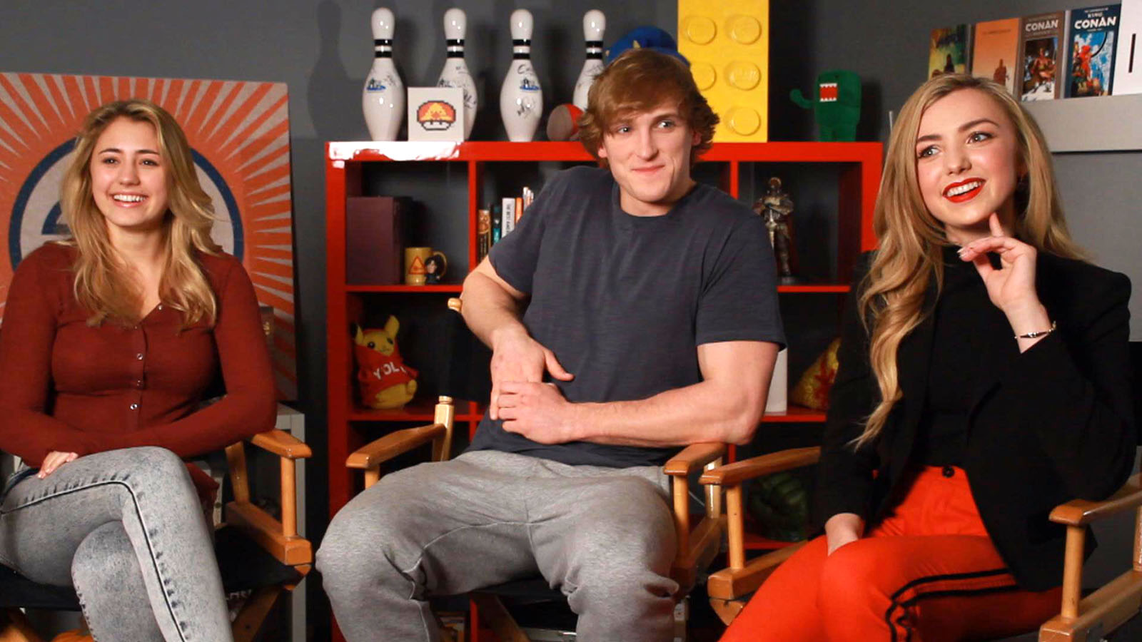 Lia Marie Johnson, Logan Paul & Peyton List Describe 'The Thinning'