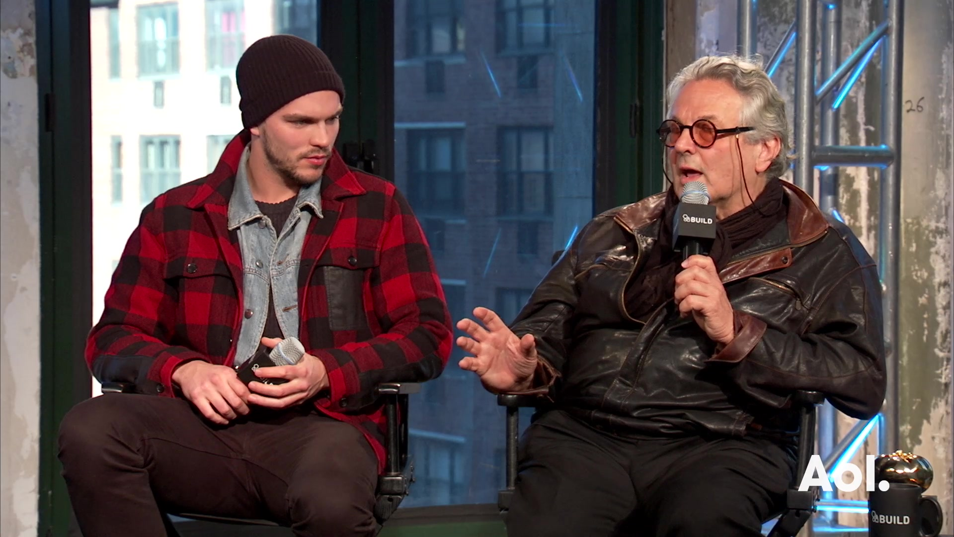 "George Miller and Nicholas Hoult On ""Mad Max: Fury Road"""