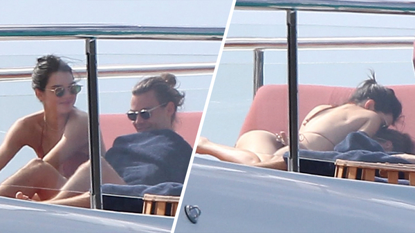 Kendall Jenner and Harry Styles Yachting and Making Out