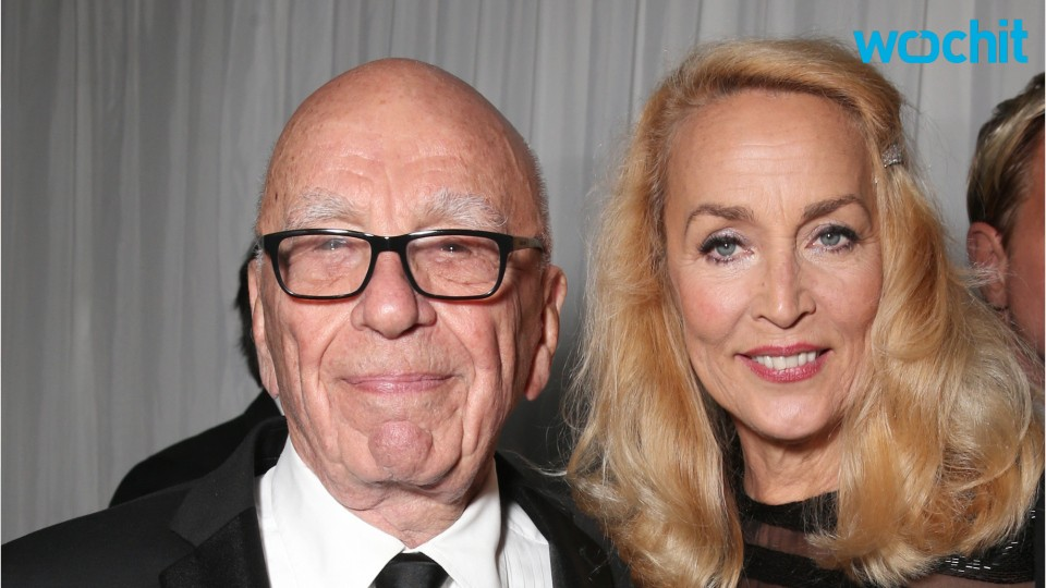 Rupert Murdoch and Jerry Hall Announce Their Engagement